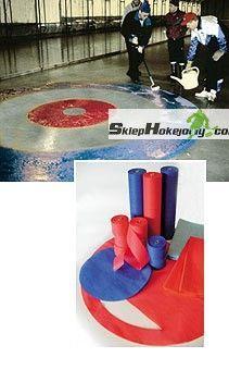 Linie oznaczające- Curling
